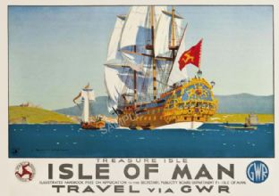 Isle of Man,  Treasue Isle Norman wilkinson IOM